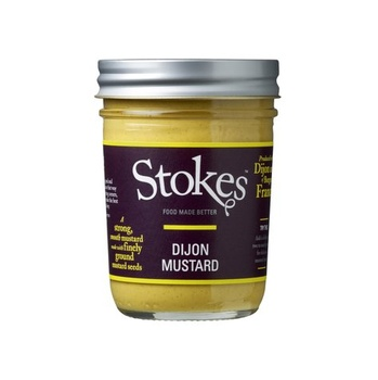 Stokes Dijon Mustard 230g