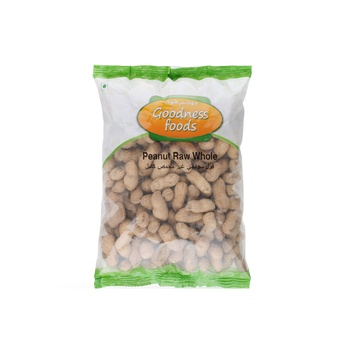Goodness Foods Peanut Raw Whole 500g