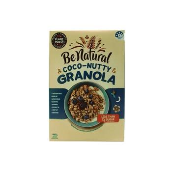 Be Natural Coco-Nutty Granola - Almond Coconut & Cinnamon 450g