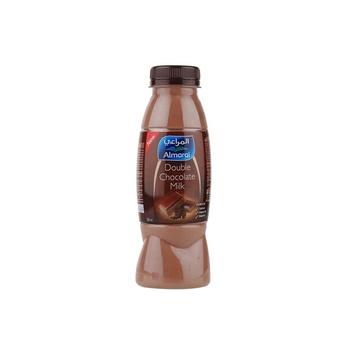 Almarai fresh flavoured milk double chocolate 360ml