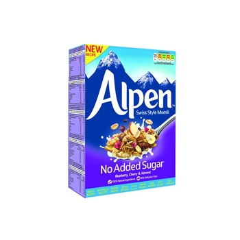 Alpen Muesli No Added sugar Blueberry 560g 20% Off