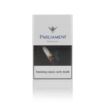 Parliament Platinum Blue 20s