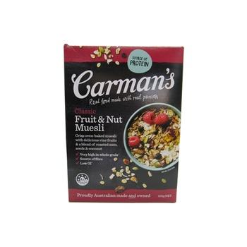 Carman'S Classic Fruit & Nut Muesli 500g