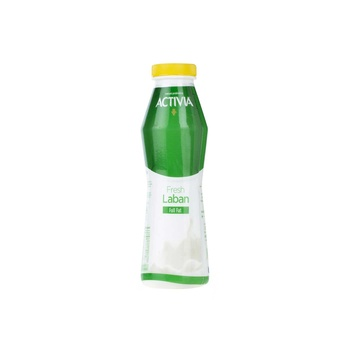 Activia Laban Plastic Bottle 375 ml