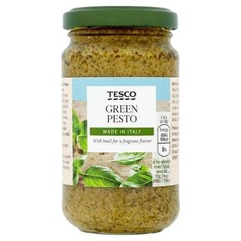 Tesco Classic Green Pesto 190g