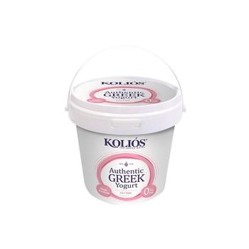 KOLIOS Authentic Greek Strained Yoghurt 0% 1kg