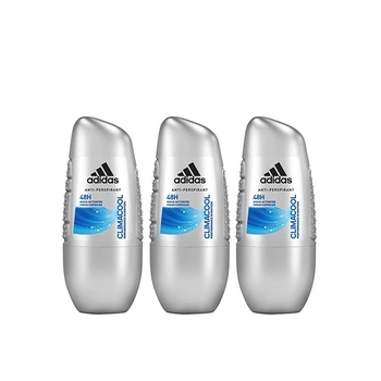 Adidas Clima Cool Roll On 50ml  Pack of 3