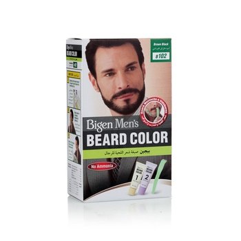 Bigen Beard Color B-102 (Brown Black)
