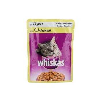 Whiskas  Pouches Chicken  85g
