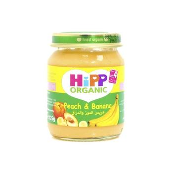 Hipp Organic Baby Food Peach & Banana 125g