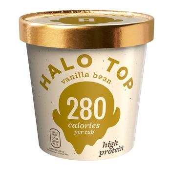 Halo Top Vanilla Bean Ice Cream 473g