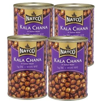 Natco Kala Chana Salted Wtr 4 x 425g