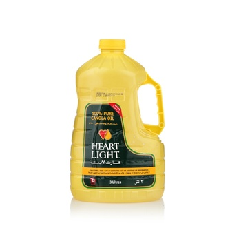 Heart Light Canola Oil 3ltr