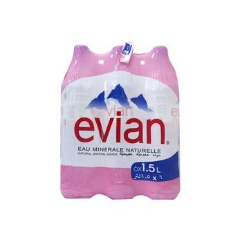 Evian Water 1.5 ltr