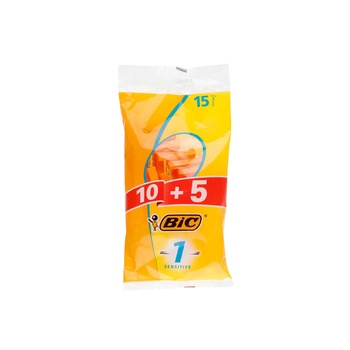 Bic Razor for Men Sensitive Pouch 10+5 15s pack