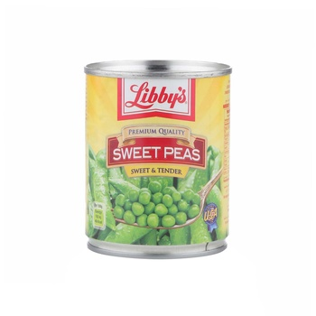 Libbys Sweet Peas 241g