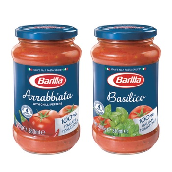 Barilla Sauce Assorted 2X400g @Special Price