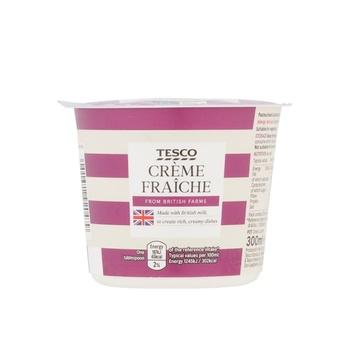 Tesco Creme Fraiche 300ml