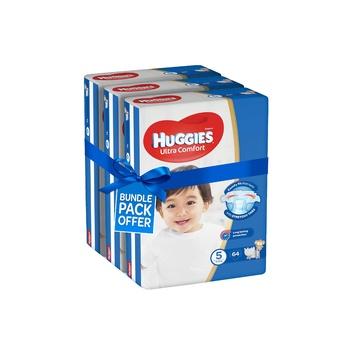 Huggies Ultra Comfort Diapers Size 5 Jumbo Pack 12-22kg (Pack Of 192 Diapers)
