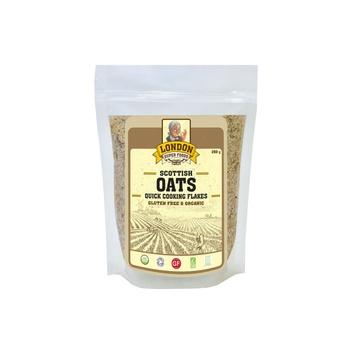 London Superfoods Organic Quick Cooking Oats Gluten Free 250g