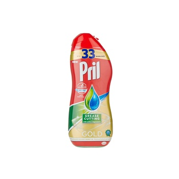Pril Dish Washer Liquid All in 1 Gel Grease 670ml