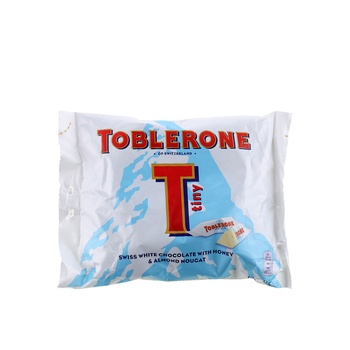 Toblerone Mini White Chocolate Bag 200g