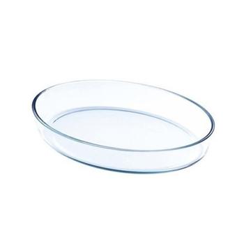 Lock & Lock Oven Oval Glass Dish - 2 ltr
