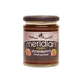 Meridian organic strawberry spread 284g