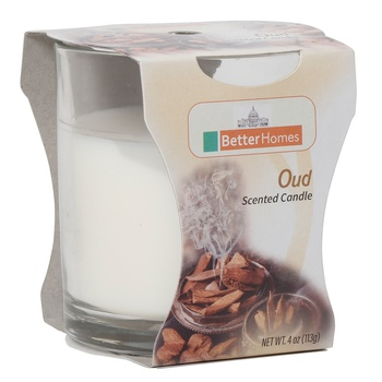 Better Homes Oud Candle 4Oz