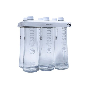 SOLO Natural Mineral Non Carbonated Water 6 x 1 Litre