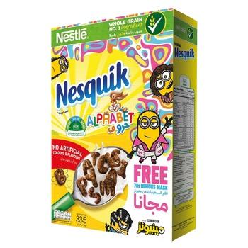 Nesquik Cereal Alphabet 335g