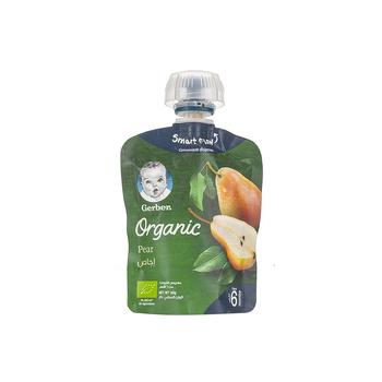GERBER Organic Pears 90g