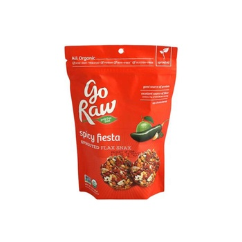 Go Raw Spicy Organic Flaxsnax Crackers 85g