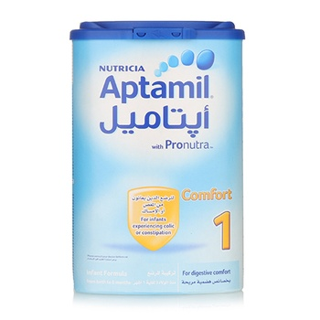 Aptamil Comfort 1 Infant Formula Milk 900g