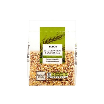Tesco Whole Foods Bulgur Wheat & Quinoa Mix 300g