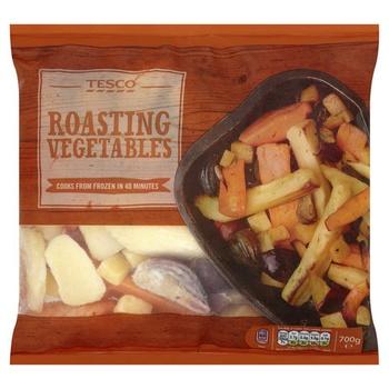 Tesco Roasting Vegetable Mix 700g