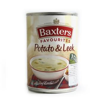 Baxters soup potato & leek 400g