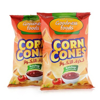 Goodness Foods Corn Cones Ketchup 2 x 90g