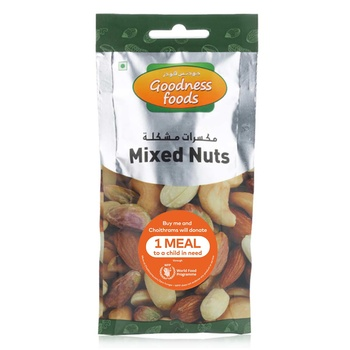 Goodness Foods Mixed Nuts Packet 40g