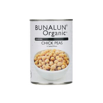 Bunalun Organic Chick Peas 400g