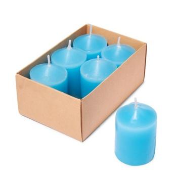 Samar Votive Candle 6 pcs Blue-Ocean