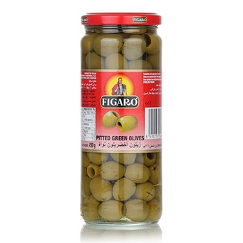 Figaro Pitted Green Olives 200g