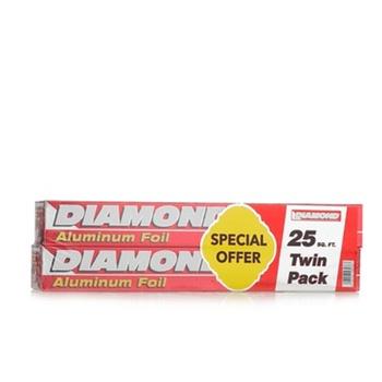 Diamond Aluminium Foil 2 x 25 Sq. Ft. @ Special Price