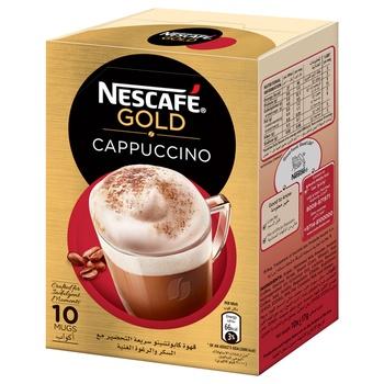 Nescafe Gold Cappucino Sweetened 10x17g