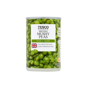 Tesco Mushy Peas 300g