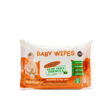 Palmer's Baby Wipes Flow Pack of 20 Wipes