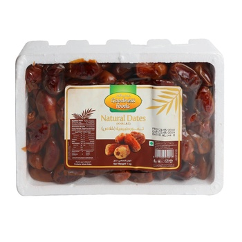 Goodness Foods Natural Dates (Khalas) 1kg