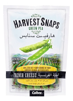 Harvest Snaps Green Pea French Cheese 93g