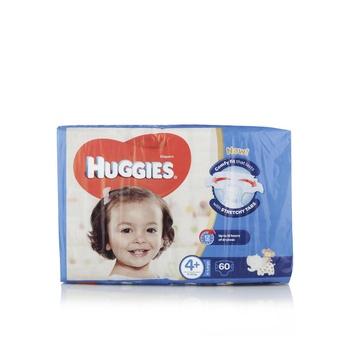Huggies (4+) Superflex Jumbo Xl 60'S
