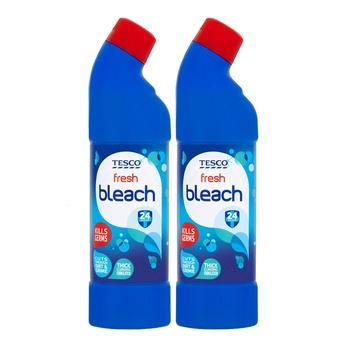 Tesco Fresh Bleach 2x750ml